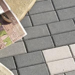 Betonplatten, Leisten und Rasenbretter